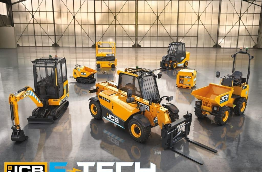 Découvrez la gamme JCB E-TECH